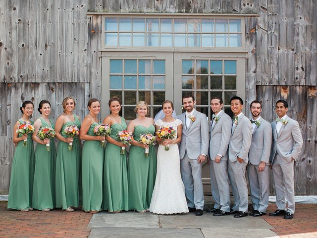 Katherine and Drew's Wedding in West Brookfield, Massachusetts 7