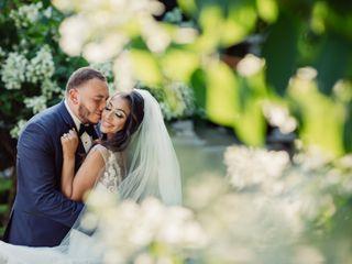 The wedding of Marina and Pishoi