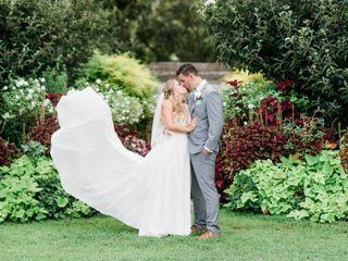 The wedding of Erik and Caroline