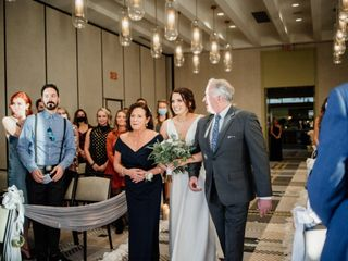The wedding of Dexter and Colleen 1