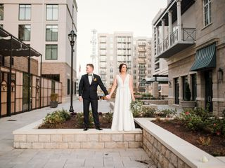 The wedding of Dexter and Colleen