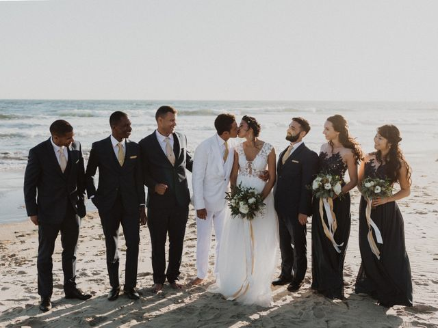 Andrew and Megan's Wedding in Malibu, California 10