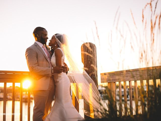 The wedding of Holden and Tanisha