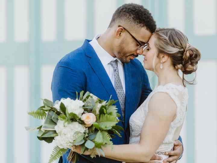 The wedding of Kathryn and Toren