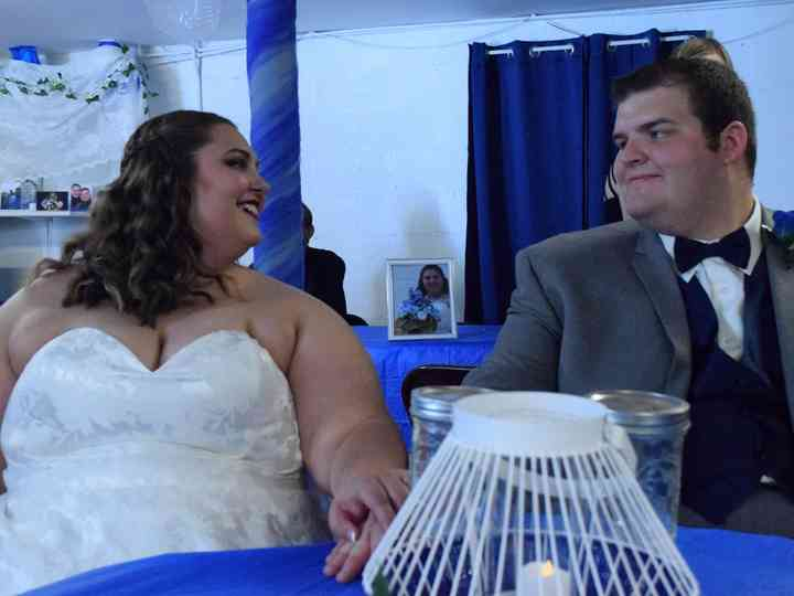 The wedding of Brittany and Jonathan