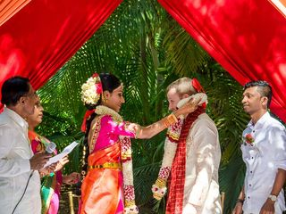 The wedding of Anusha and Chris 1
