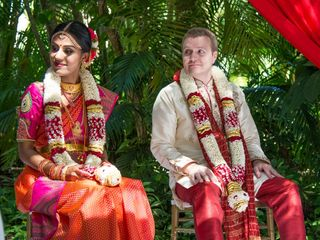 The wedding of Anusha and Chris 2