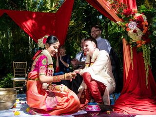 Chris and Anusha's Wedding in Saint Petersburg, Florida 16