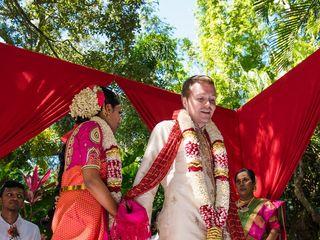Chris and Anusha's Wedding in Saint Petersburg, Florida 17