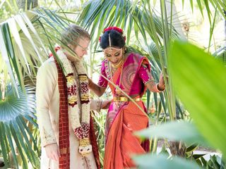 The wedding of Anusha and Chris