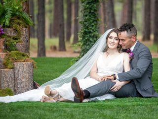 The wedding of Amanda and Josiah