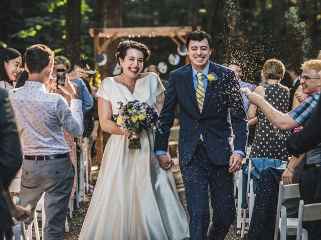 The wedding of Mary and Brendan