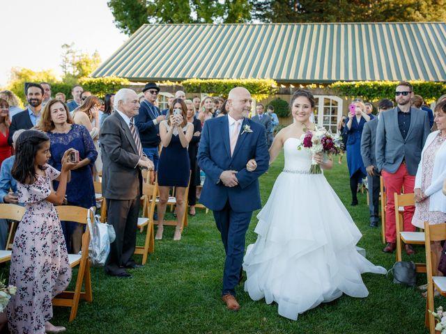 Matt and Leah's Wedding in Geyserville, California 9