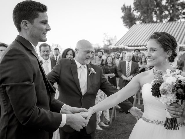 Matt and Leah's Wedding in Geyserville, California 10