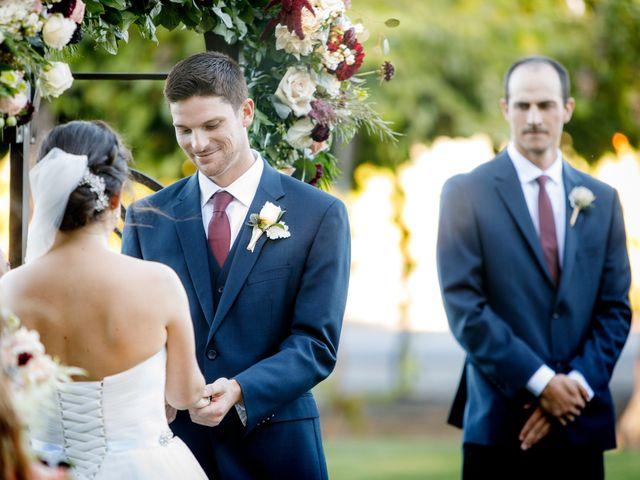 Matt and Leah's Wedding in Geyserville, California 13