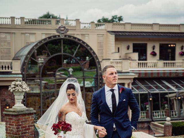 Alexander and Danielle's Wedding in West Orange, New Jersey 45