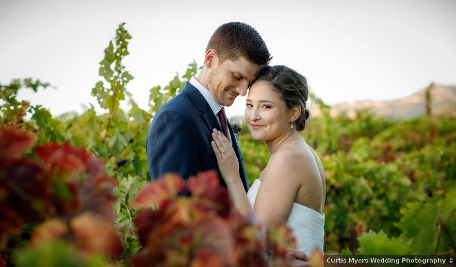 Matt and Leah's Wedding in Geyserville, California