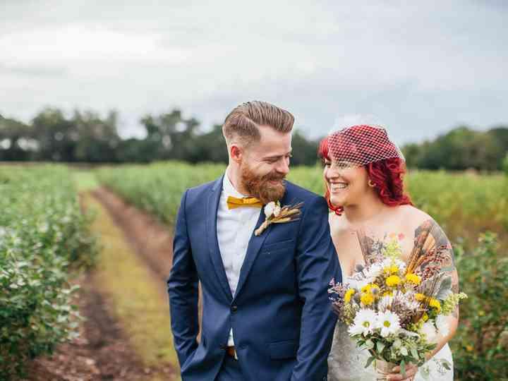 The wedding of Jonathon and Melissa