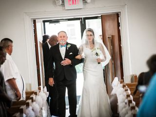 The wedding of Stephanie and Eugene 1