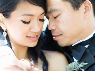 The wedding of Kelly and Quon