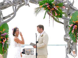 The wedding of A J and Sarina 1