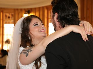 The wedding of Aaron and Cinthya
