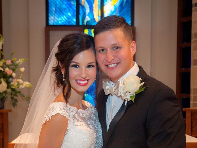 Taylor and Christopher's Wedding in Magnolia, Texas 17