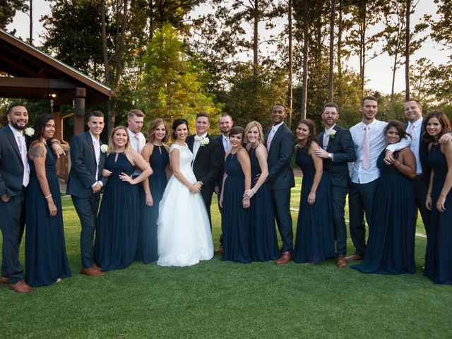 Taylor and Christopher's Wedding in Magnolia, Texas 24