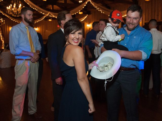 Taylor and Christopher's Wedding in Magnolia, Texas 32