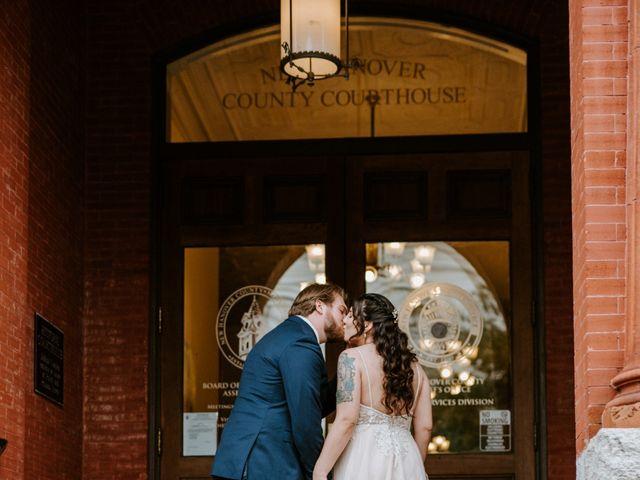 Mitch and Delaney's Wedding in Wilmington, North Carolina 5