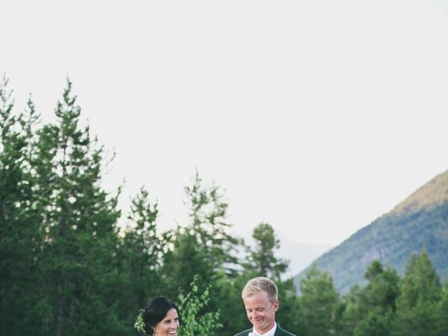Ford and Missy's Wedding in West Glacier, Montana 4