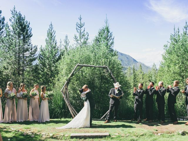 Ford and Missy's Wedding in West Glacier, Montana 40
