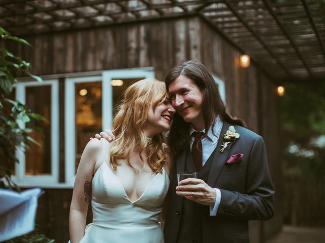 The wedding of Claire and Nick