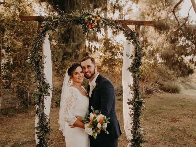 The wedding of Vanessa and Jay