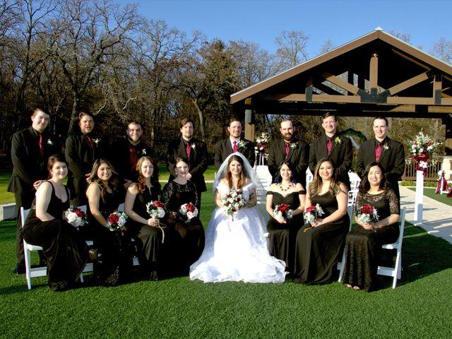 Cinthya and Aaron's Wedding in Denton, Texas 13