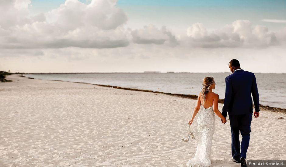 Horace and Marina's Wedding in Cancun, Mexico