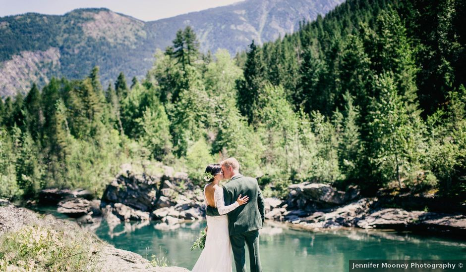 Ford and Missy's Wedding in West Glacier, Montana