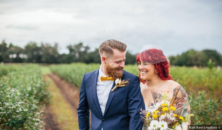 Melissa and Jonathon's Wedding in Plant City, Florida