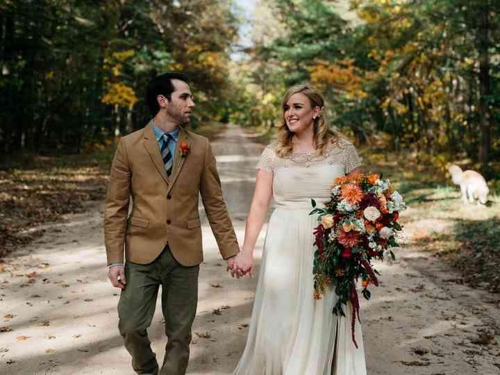 The wedding of Jason and Megan