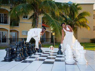 The wedding of Leron and Monique 2