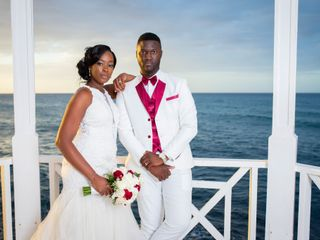 The wedding of Leron and Monique 3