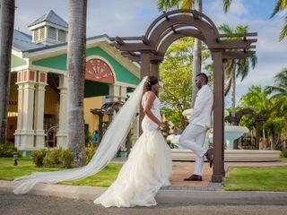 The wedding of Leron and Monique