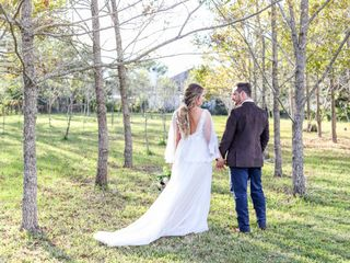 The wedding of Zach and Casey
