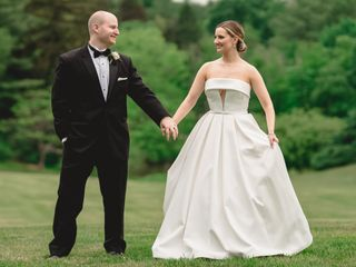 The wedding of Paige and Max