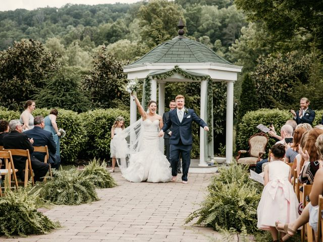 Austin and Allison's Wedding in Milton, West Virginia 14