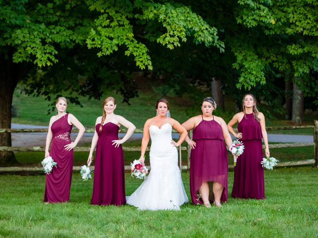Andrey and Kelli's Wedding in Sturbridge, Massachusetts 25