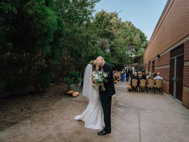The wedding of Brenda and David