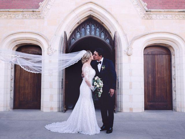 The wedding of Adela and Jose
