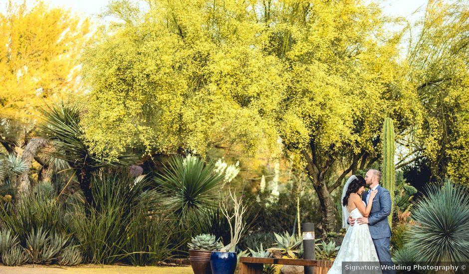 Jonathan and Alyssa's Wedding in Scottsdale, Arizona