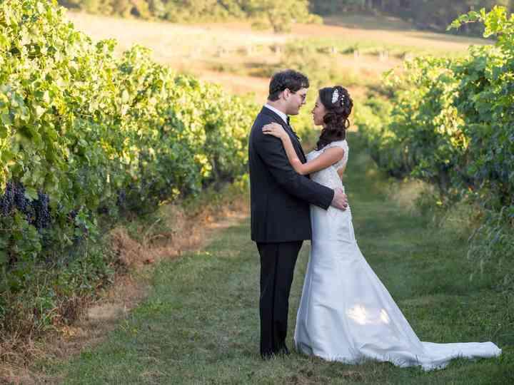 The wedding of Alex and Elaine